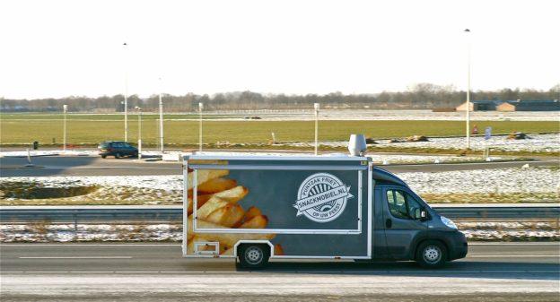 Frietwagen op locatie